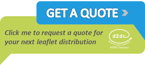 leaflet distribution quote